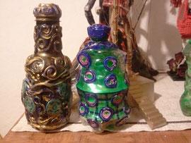 Kunst-Flaschen