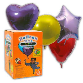 Ballon Time Party Helium Set