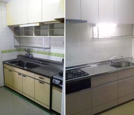 左コンロは使い辛い キッチンリホーム 札幌市手稲区