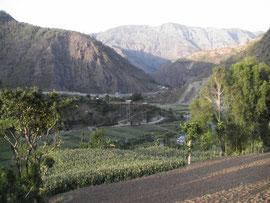 Trekking à Dhulikhel, dans vallée de Katmandou au Népal