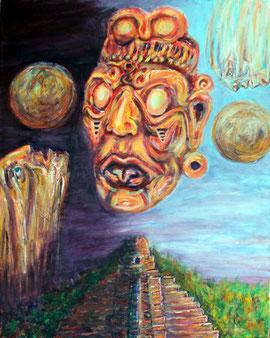 Sonnengott der Maya