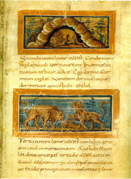Physiologus de Berne IXe siècle