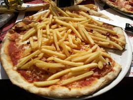 la pizza aux frites