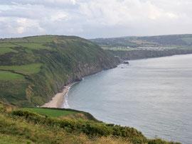 Au bord de la mer d'Irlande