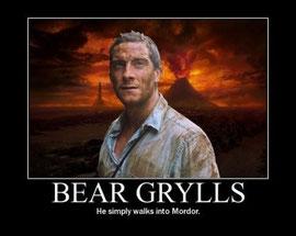 Él sí entra así como así en Mordor