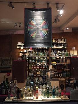 Derzeit über 50 Gins und 25 Tonics gibt es bei Nick & Nora - Spirituosen in Karlsruhe zu kaufen
