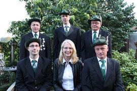 Vorstand Schießgruppe 2014