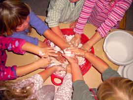 Alle Hände voll zu tun in Scholen