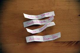 Kathrins Papier Gewinner