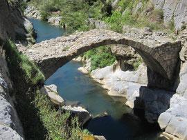 Römische Brücke bei Ile-sur-Tête