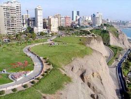 Lima y los circuitos de la Costa Verde