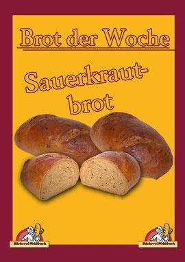 Bäckerei Weißbach Sauerkrautbrot