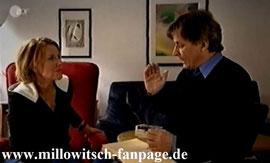 Mariele im Gespräch mit Winfried Bonk