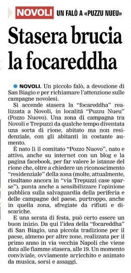 La Gazzetta del Mezzogiorno, 02/2012