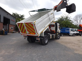 Tipper Bodies, Tippers, Dropside Tippers - By Spenborough Engineering