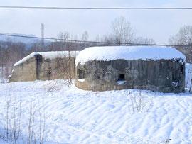 2013年:サハリン(樺太)旧国境付近要塞