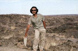 1986年:クービ・フォラ遺跡にて(アフリカ・ケニア)