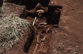 1992年:ラッテ・ストーン遺跡埋葬遺構出土人骨