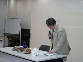 2010年:浅間縄文ミュージアムにて