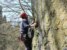 Kletterkurs im Steinicht