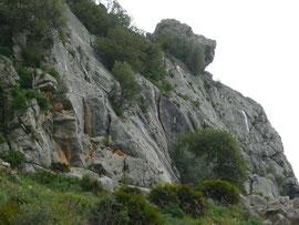 Klettergebiet Benaoján, Sektor Las Banderas
