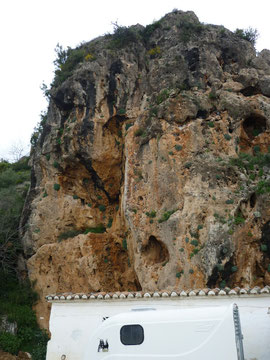 Klettergebiet Mijas, Sektor Los Burros