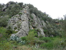 Klettergebiet Benaoján, Sektor Norte