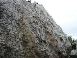 Klettergebiet San Bartolo, Sektor La Habitación (Pared del Sol)