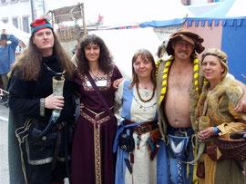 Andy, Conni, Iris, Georg und Marion