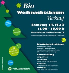 Flyer 1.Bio-Weihnachtsbaumverkauf