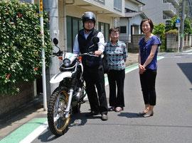左からカメラマン中村さん、かみさん、Webデザイナー伊藤さん