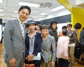 雅史氏と山田みどりさんとカミさん