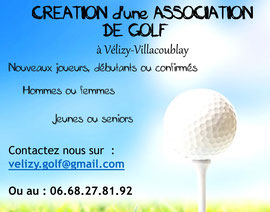 Vélizy Golf Club.