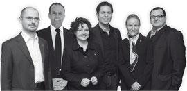 v.l.n.r. Bundesgeschäftsführer Stv. Roman Riedl, Bundesvorsitzender Stv. Thomas Herbst-Url, Bundesgeschäftsführerin Elisabeth Zehentner, Bundesvorsitzender Markus Roth, Bundesvorsitzende Stv. Maria Hauser, Bundesvorsitzender Stv. Walter Seemann