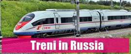 Treni ferrovie russe