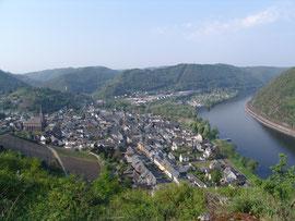 Blick vom Zillesberg auf Treis