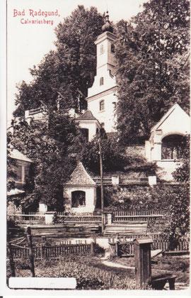 Der Kalvarienberg 1903
