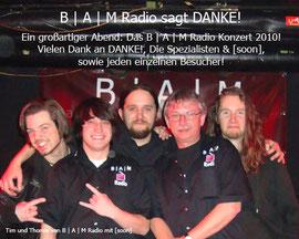B | A | M Radio Konzert 2010