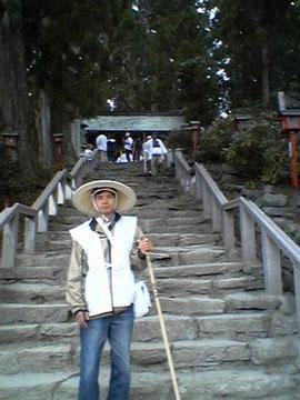 焼山寺にて