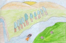 Dibujo de Ana Mena Ahumada 12 años