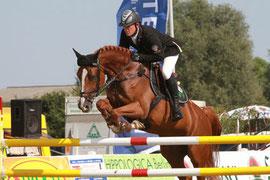 Thomas Kleis und Questa Vittoria -Sieger in Mühlengeez Foto: wego