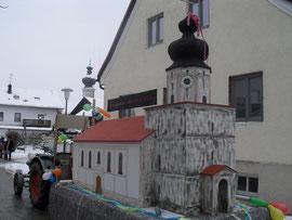 Der Wagen des Heimat- und Verschönerungsvereins Taufkirchen (Vils)