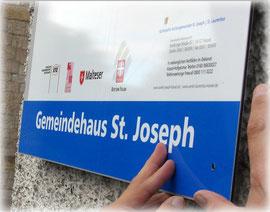 Sozialbüro im Gemeindehaus St. Joseph  geöffnet!