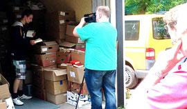 Was passiert mit alten Gottesloben in #Kassel? Schon bald gibt ein Bistumsfilm Auskunft! Dreharbeiten vor Ort (Juni 2014)