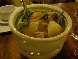 シニガンスープです。 色はよくありませんが美味しいですよ!