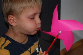 Experimente für Kinder mit Luft