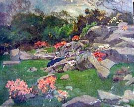 Benjamin Leader   Rock Garden at 'Rosemerrin'