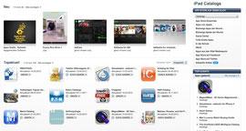 """Die Kategorie ist so neu, dass die englische Bezeichnung """"Catalogs"""" in iTunes noch nicht übersetzt wurde."""