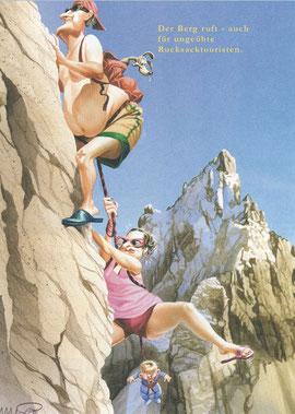 Der Berg ruft - auch für ungeübte Rucksacktouristen.