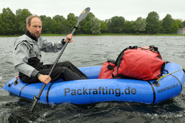 Training im Packraft
